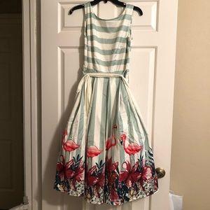 Collectif X ModCloth collab Vanessa dress XS NWT